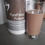 Chocolate Banana Smoothie w/ PurePaleo Protein (Low FODMAP, GF, DF)