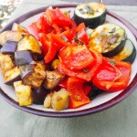 Mediterranean Roasted Vegetables (Low FODMAP, SCD, Vegan)