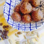 Chocolate Pumpkin Seed Energy Bites (Low FODMAP, GF, Vegan)