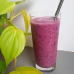 Ginger Berry Smoothie (Low FODMAP, Paleo, Vegan)