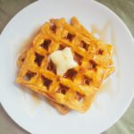Spiced Pumpkin Waffles (Low FODMAP, GF, DF)