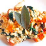 Chicken Sage Risotto (Low FODMAP, GF, DF)