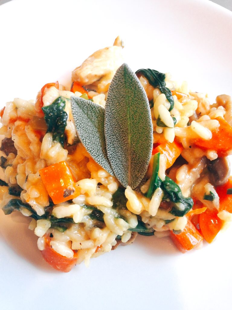 Chicken Sage Risotto