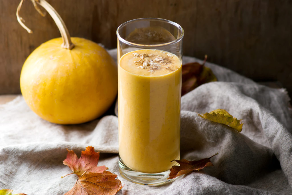 Spiced Pumpkin Smoothie (Low FODMAP, Gluten-Free, Dairy-Free)