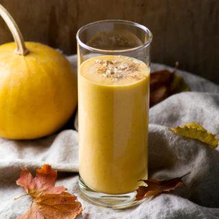 Spiced Pumpkin Smoothie (Low FODMAP, Gluten-Free, Dairy-Free)