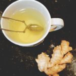 Fresh Lemon Ginger Tea (Low FODMAP, SCD, Vegan)