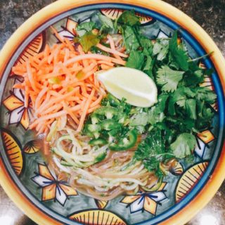 Super Simple Antimicrobial Pho (Low FODMAP, GF, DF)