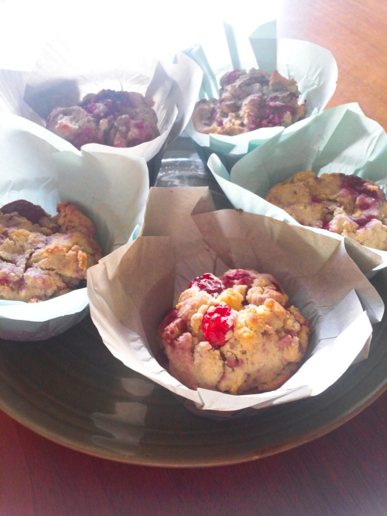 Cranberry Orange Scuffins