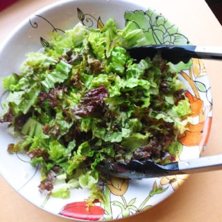 Simple Green Salad (Low FODMAP, Paleo)