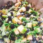 Cucumber Blueberry Low FODMAP Salsa