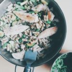 Chicken & Vegetable Pesto Pasta (Low FODMAP, GF, DF)