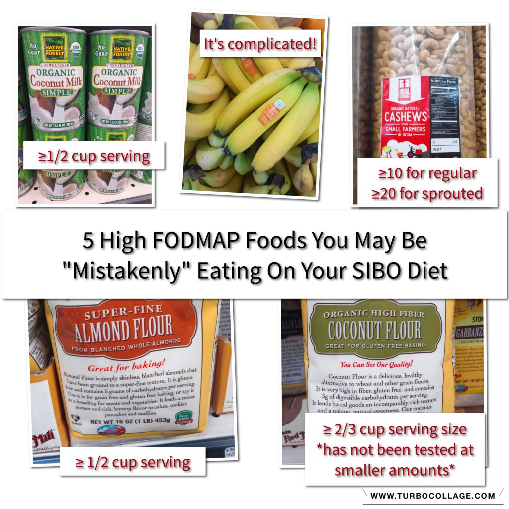 5 High FODMAP Foods You May Be Mistakenly Eating on Your SIBO Diet