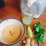 The BEST Gingery Peanut Sauce (Low FODMAP, SCD, Vegan)