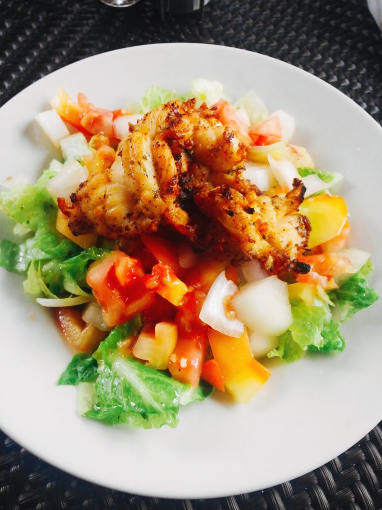 Lobster Salad Marley Resort Bahamas