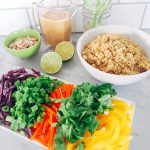 Thai Quinoa Salad (Low FODMAP, SCD, Vegan)