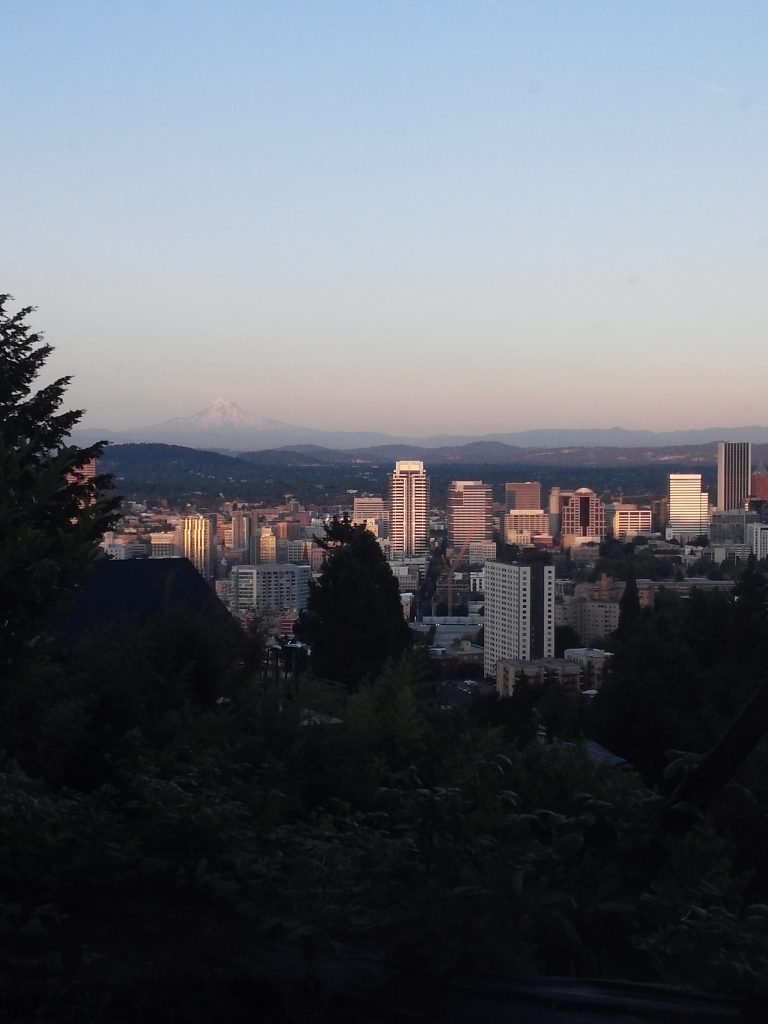 View from Buehla Vista in Portland Oregon
